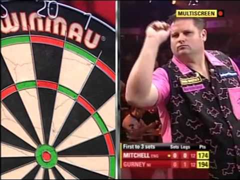 Darts World Championship 2010 Round 1 Mitchell vs Gurney