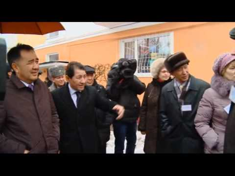 сюжет о визите заместителя премьера-министра в Петропавловск