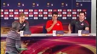 Порто (Португалия) - СПАРТАК 5:1, Лига Европы - 2010-2011, 1/4 финала