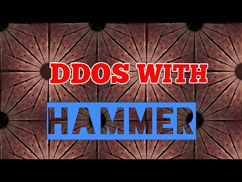 Ddos with hammer in termux android (no root & root