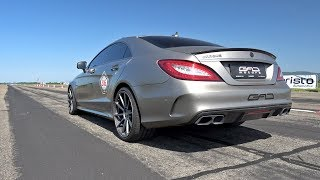 1200 HP BRABUS 850 6.0 Biturbo CLS63 S AMG by GAD MOTORS!