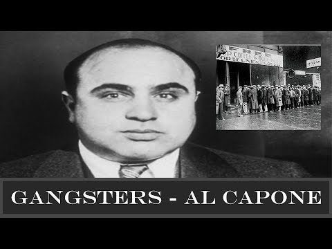 Gangsters - Al Capone - 4151