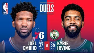 Joel Embiid & Kyrie Irving Go Off Epic Showdown | March 20, 2019