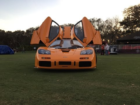 Mclaren F1 LM Driving On The Street!