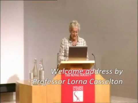 Prof. Lorna Casselton introduces FSTC lecture at Royal Society