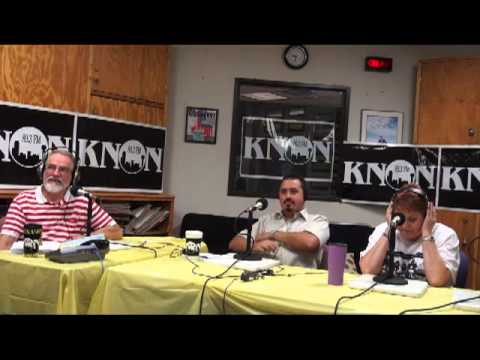 Knon 89.3, Workers Beat 2013.08.24 with Max Krochmal, Bonnie Mathias & Gene Lantz