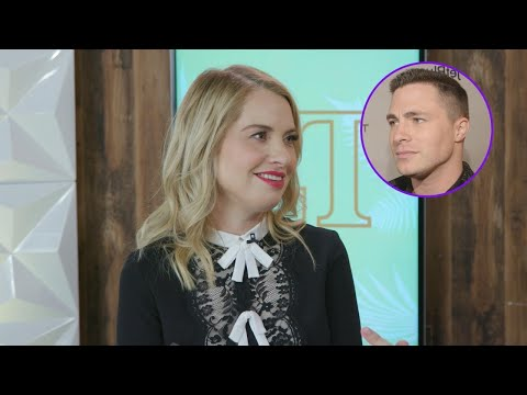 Here's the Prank Colton Haynes Played on Leslie Grossman Every Week on 'AHS: Cult' Exclusive