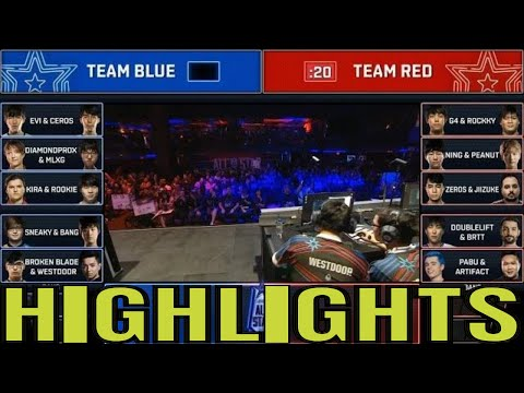 Tandem Mode Highlights 2 players control 1 Champion  All-Stars 2018 Day 1