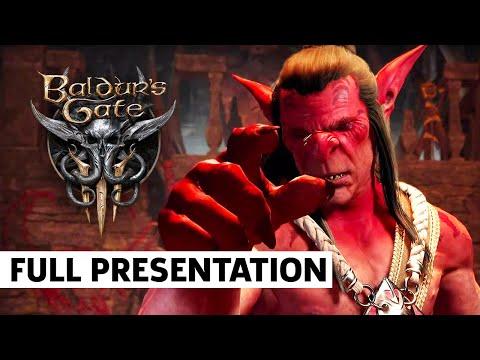 Baldur's Gate 3 - FULL Presentation | Guerrilla Collective Showcase