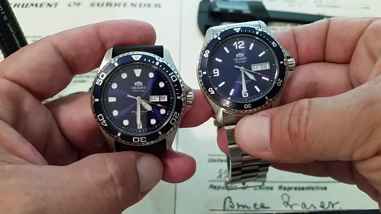 Orient Mako Ii And Ray Ii Still The Best Bang For Buck Under 200