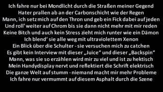 (Lyrics) Metrickz - Schwarzer BMW HQ
