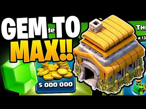 $30,000 ON THE LINE, TIME TO GEM TO MAX! - Clash Of Clans