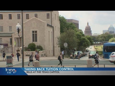 Texas Senate wants more control over university tuition