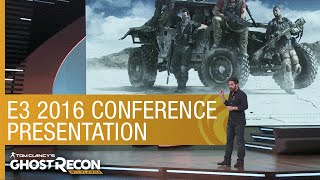 Tom Clancy's Ghost Recon Wildlands: E3 2016 Conference Presentation - Official [US]