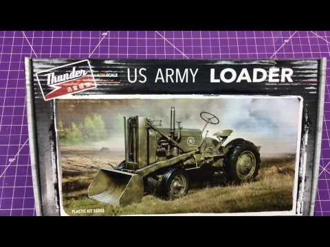 Thunder Model 1/35 US ARMY Loader