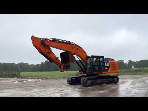 Used heavy machinery Caterpillar 329EL Crawler excavator