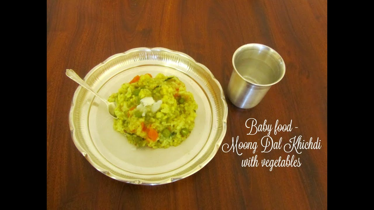 Baby food moong dal khichdi with vegetables for babies 9 months baby food moong dal khichdi with vegetables for babies 9 months and older youtube forumfinder Gallery
