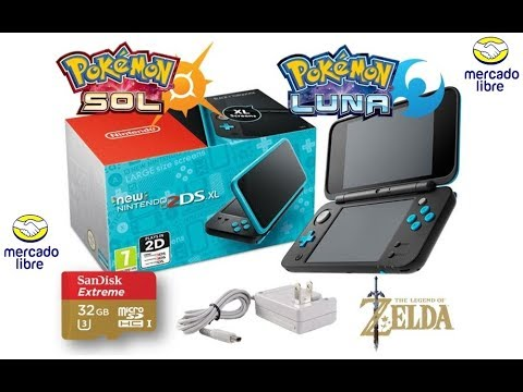New 2ds Xl Mas Juegos Pokemon Ultra Sol Ultra Luna Youtube