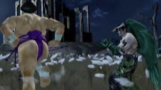 Tekken 5 - Ganryu with Kuma's Moves