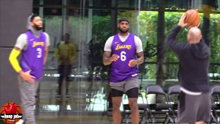 Download LeBron James & Anthony Davis Shooting Workout After Lakers Practice. HoopJab NBA Mp3 and Videos