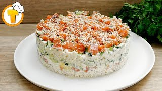 """САЛАТ """"СУШИ"""". Необычный салат - просто, быстро и вкусно."""
