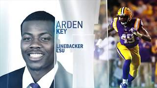 Arden Key 2018 NFL Scouting Combine workout