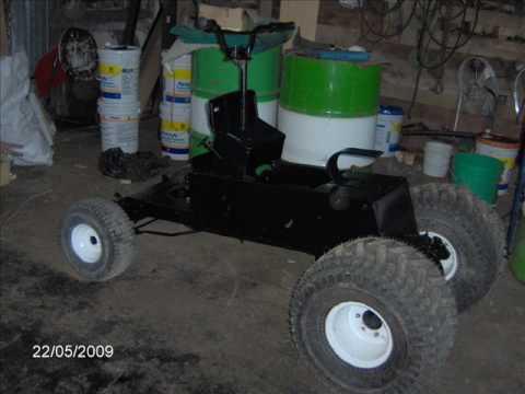 Fabrication d 39 un tracteur modifier youtube - Dessin d un tracteur ...