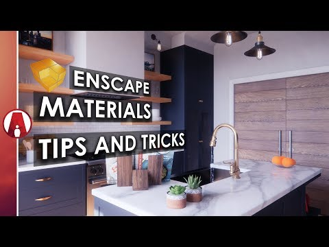 Enscape Materials Tips and Tricks - YouTube