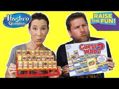 Guess Who Game - Hasbro Raise The Fun Challenge