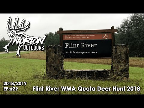 Flint River WMA Quota Deer Hunt 2018