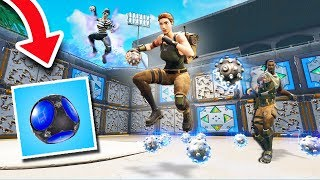 NEW SPIKY STADIUM DODGEBALL! *VOICE TROLLING!* | Fortnite Battle Royale Custom Games