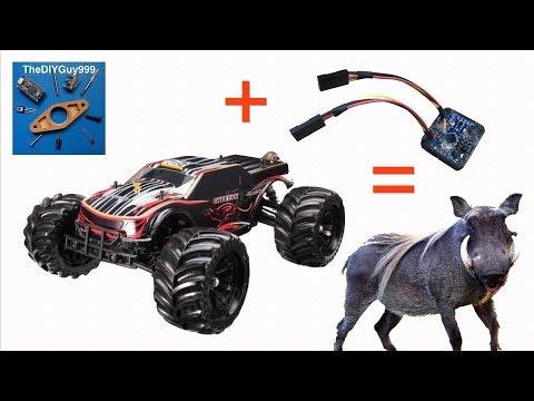 JLB Racing Cheetah + Arduino MRSC Drift Assist = Wild Boar!
