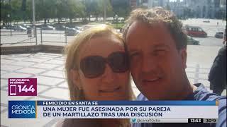 Nuevo femicidio en Santa Fe: mujer asesinada a martillazos y detienen al esposo