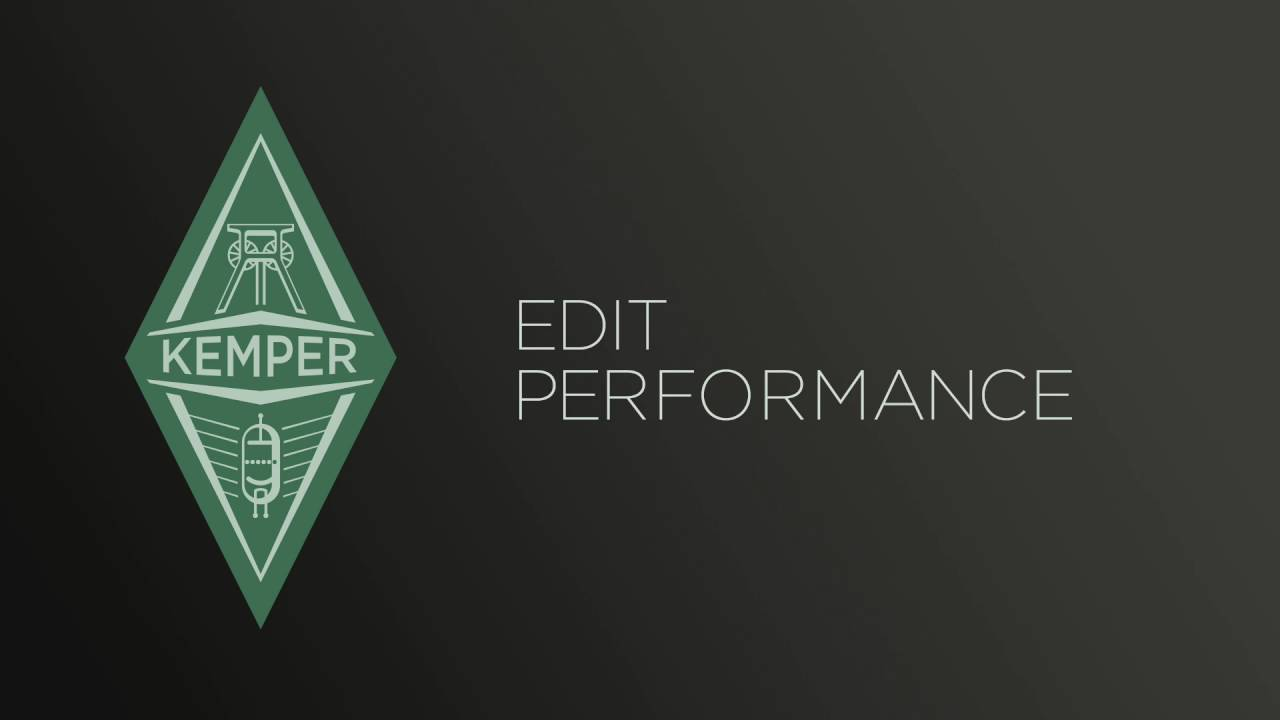Kemper Profiler Tutorials - Rig Manager - english