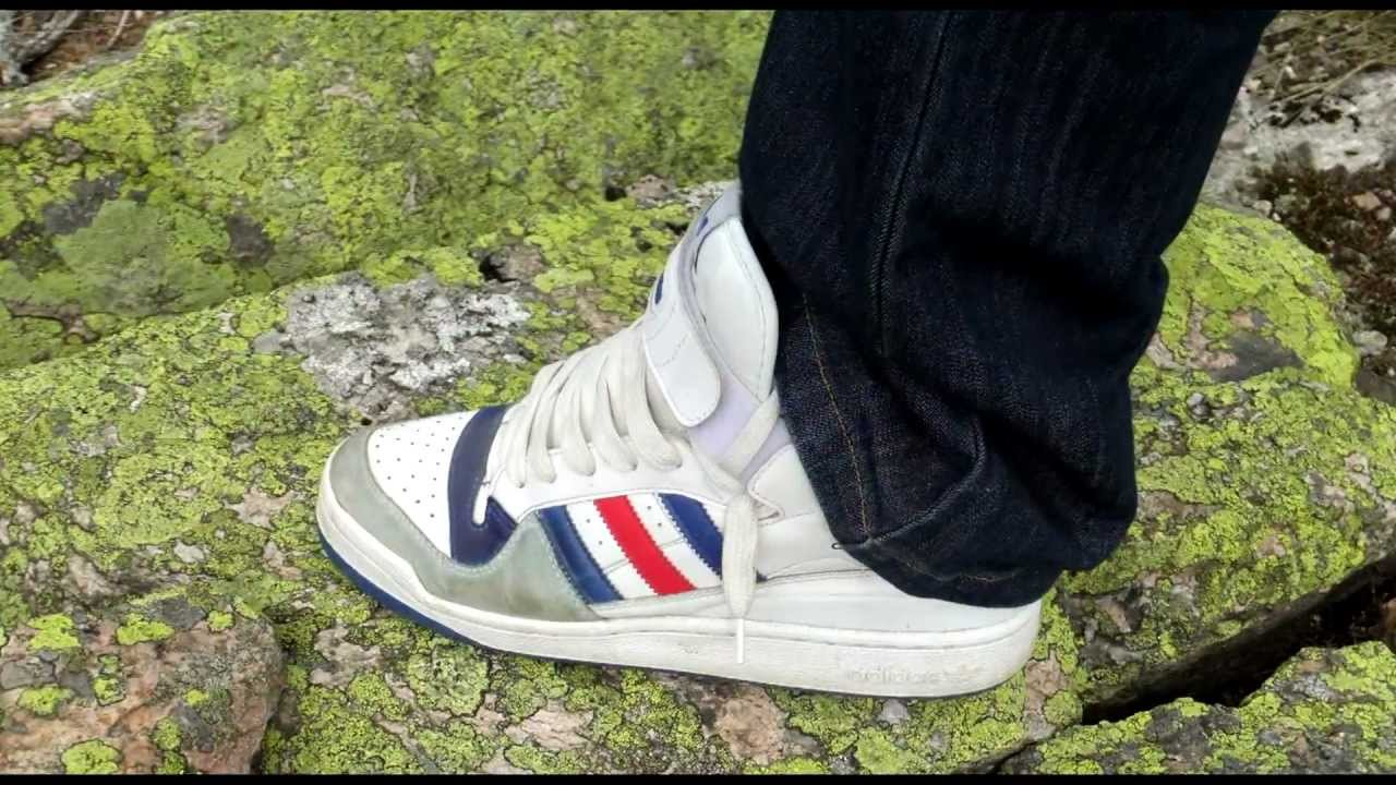 e957b391ecc3 Walk a mountain road in my color modified shoes Adidas Forum Mid ...