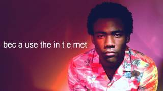 childish gambino - ii. earth, the oldest computer (ft. azealia banks)