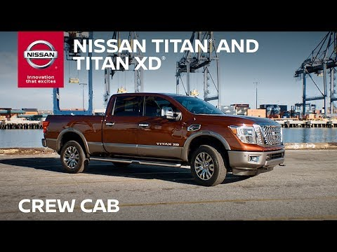 2018 Nissan TITAN Crew Cab Walkaround & Review