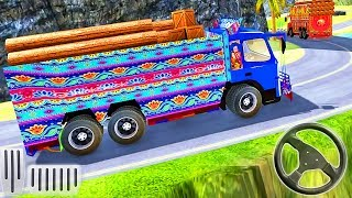 Indian Real Cargo Truck Driver Simulator | Offroad Truck Driving | Android GamePlay