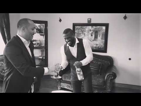 Sarkodie 'Chills' With Peter Okoye Of P-Square Ahead Of Wedding (+ Video)