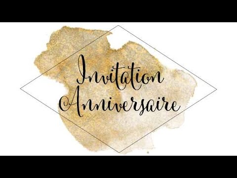 film invitation anniversaire 50 ans joelle youtube. Black Bedroom Furniture Sets. Home Design Ideas