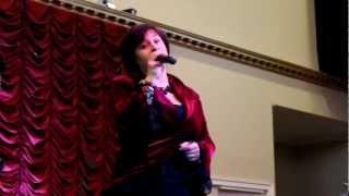 КАЛИНКА и Алла Сандлер - благотворительный концерт в Балтиморе MD, ресторан