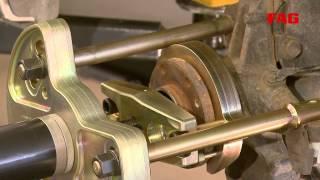 Замена подшипника передней ступицы Mercedes Sprinter, Vito, Viano