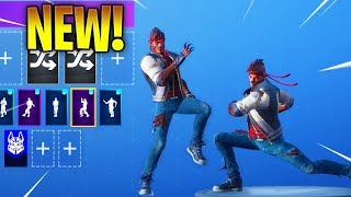 NEW! DIRE SKIN With NEW SEASON 6 DANCE EMOTES! Fortnite Battle Royale