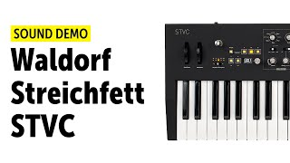 Waldorf Streichfett STVC Sound Demo (no talking)