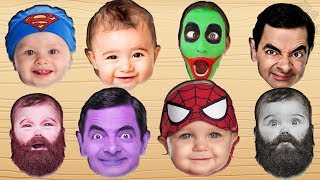 Johny Johny Yes Papa Rhyme children song 2018 Learn Colors part 4 اغنية جوني جوني يس بابا