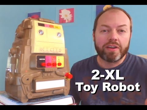 Introduction to my 2-XL toy robot from 1978