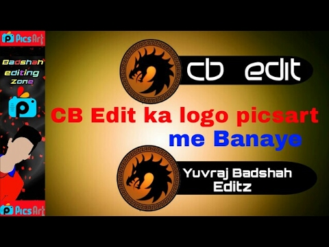 how to create logo in picsart