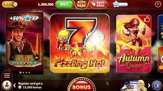Play Sizzling Hot™ deluxe or Roaring Forties!