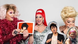 the Vivienne, Divina de Campo and Baga Chipz SHADE and RATE Celebs drag