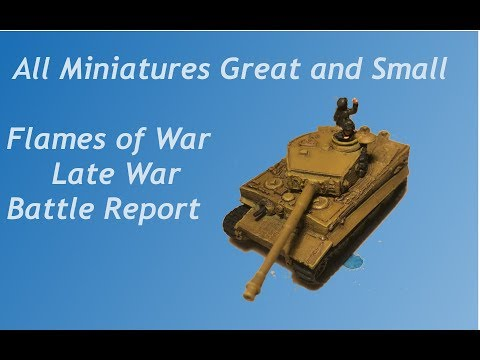 Flames of War V4 Batrep #8 Panzer Lehr vs. US 3rd Armored